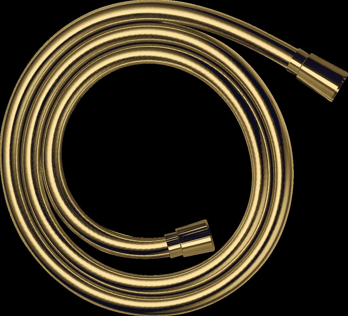 Flexible de douche Hansgrohe Isiflex 1,25 m aspect doré poli