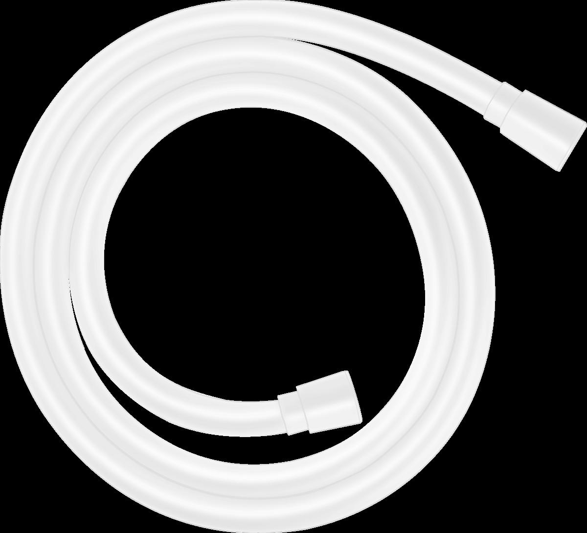 Flexible de douche Hansgrohe Isiflex 1,25 m en blanc mat