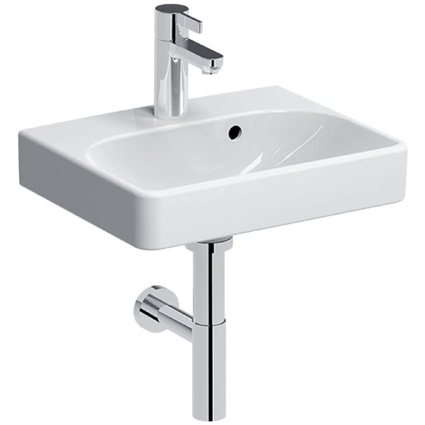Lave-mains Geberit Smyle Square 45 cm