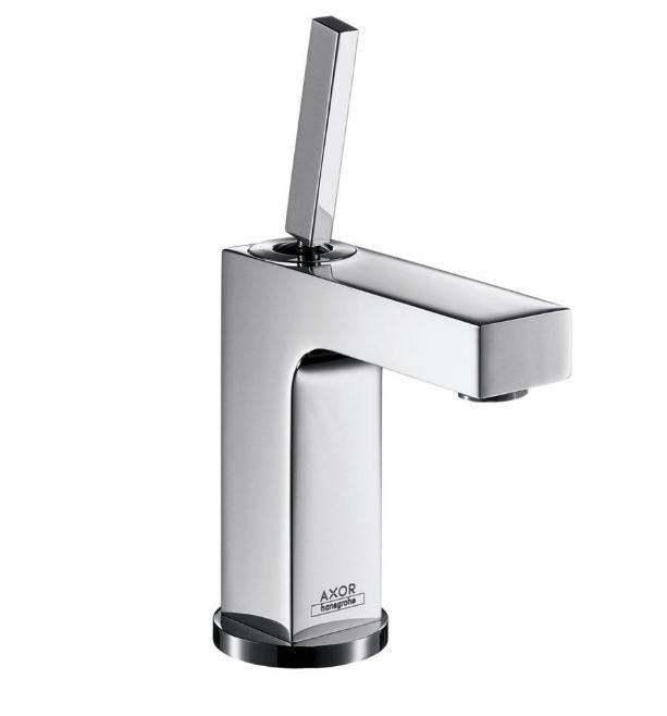 Mitigeur de lavabo AXOR Citterio 110 avec tirette et vidage