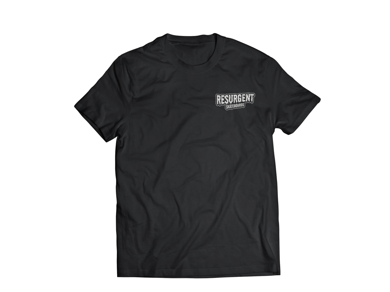 Resurgent Small Logo T- (black)