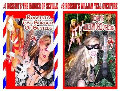 ROSSINI MUSIC VIDEO SINGLE DVDS!