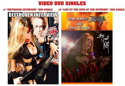 GREAT KAT DVD SINGLES!