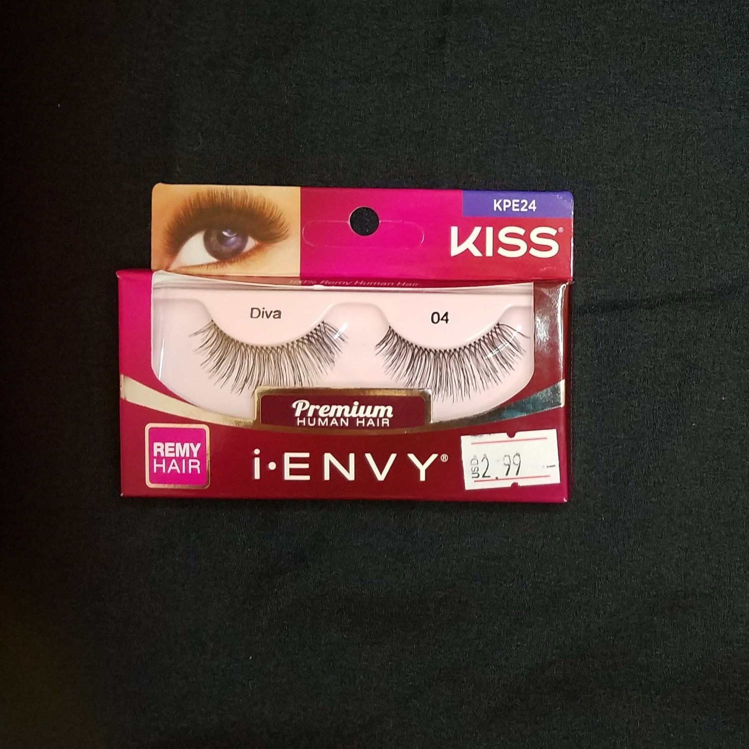 Kiss I-Envy Premium Diva Full Strip Lashes