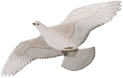 Dove of Peace Assembled
