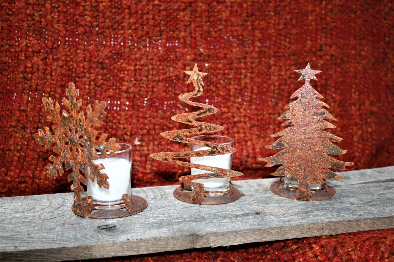 Christmas Candle Holder's
