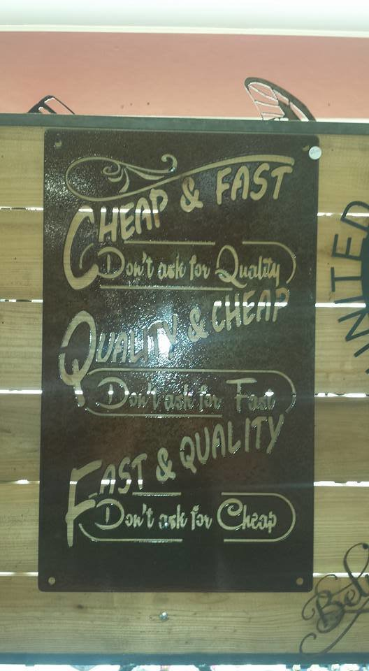 Cheap/Fast Sign