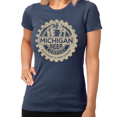 Michigan Beer Company | Women's Slate T-Shirt