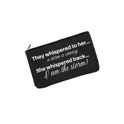 Make-Up Bag - I am the storm