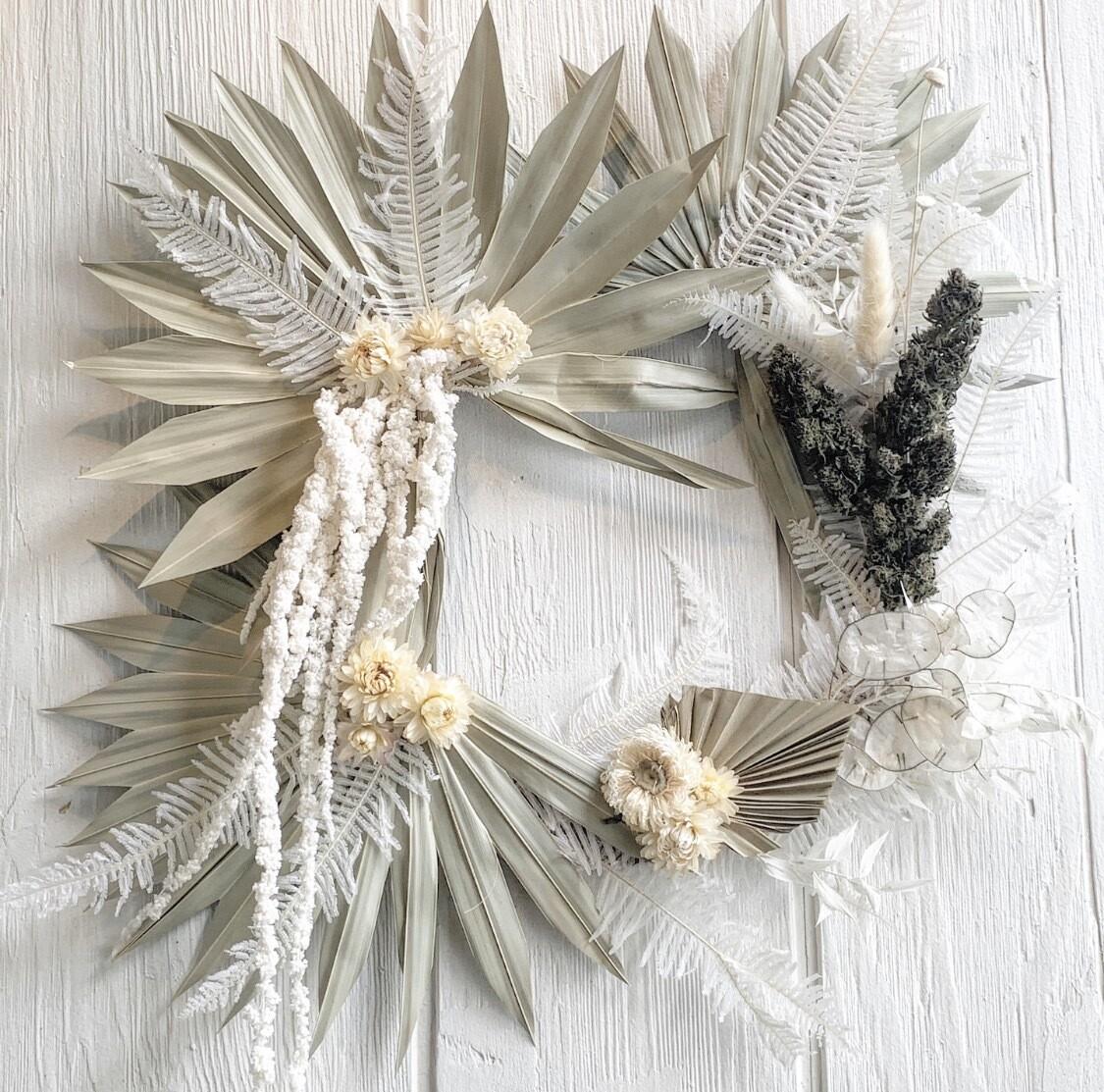Hemp Flower Wreath