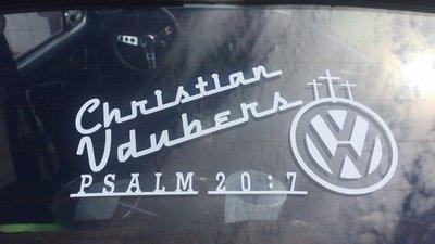 Christian Vdubers Large Decal