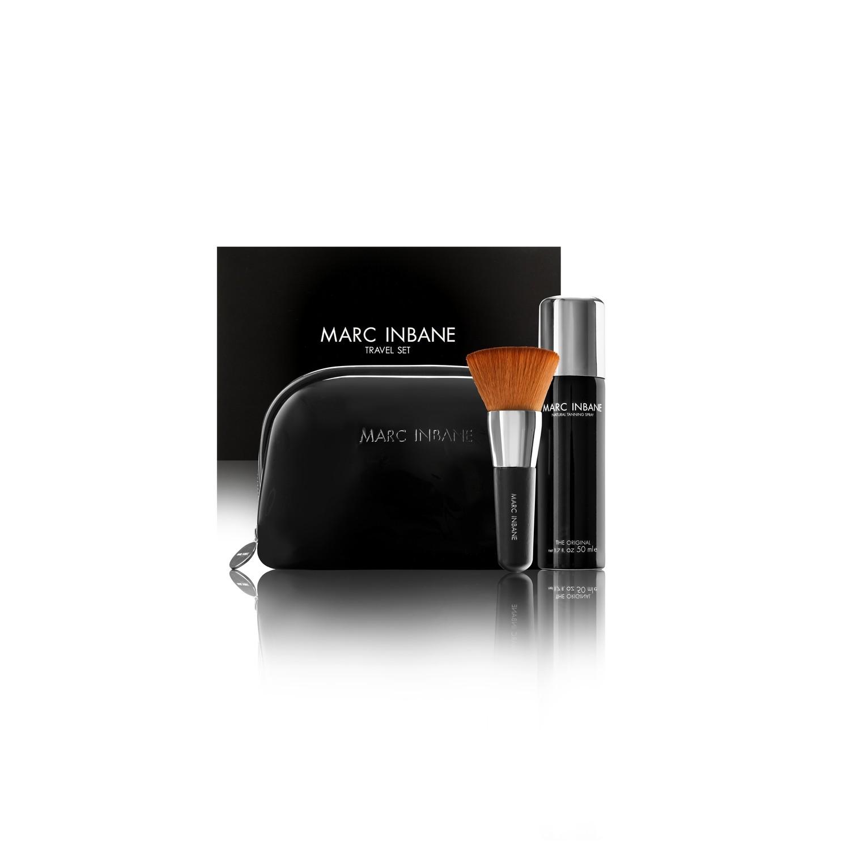 Luxe Travelset Spray, Brush en luxe etui