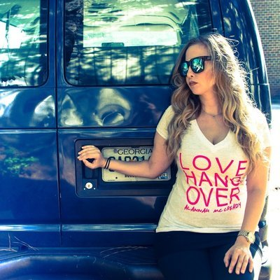 LOVE HANGOVER V-neck T