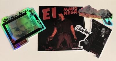 Gangland Mano Negra Sticker Pack