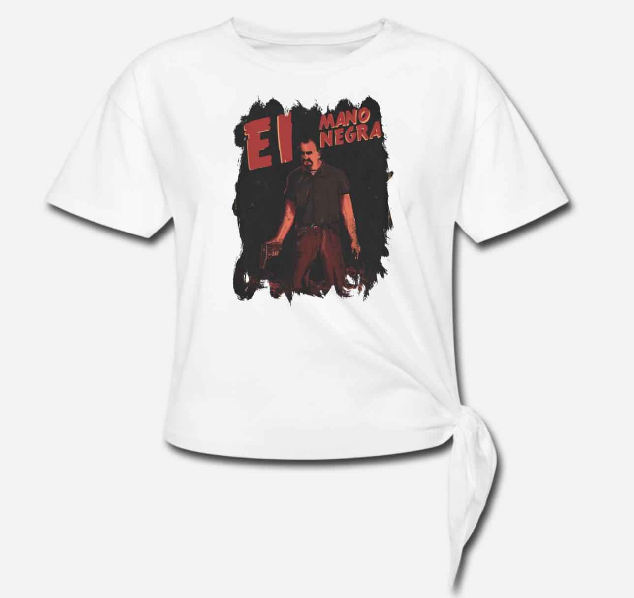 Mano Negra Women's Tie-Off Shirt