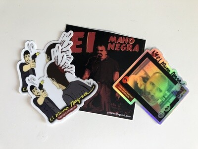 Gangland Mano Negra Sticker Pack
