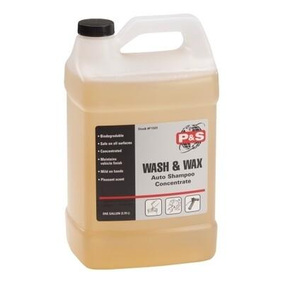 P&S Wash & Wax - 1 Gal