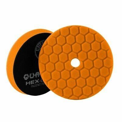 Chemical Guys Orange Hex-Logic Quantum Medium-Heavy Cutting Pad - 5 Inch