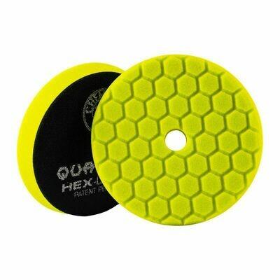 Chemical Guys Yellow Hex-Logic Quantum Heavy Cutting Pad - 5 Inch