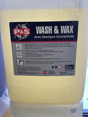 P&S Wash & Wax - 5 Gal.