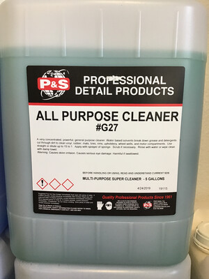 P&S All Purpose Cleaner - 5 Gal.