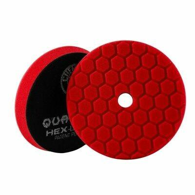 Chemical Guys Red Hex-Logic Quantum Ultra Light Finishing Pad - 6 Inch