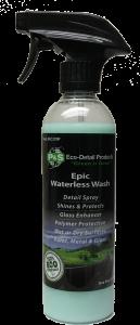 P&S Eco Detail Epic Waterless Wash - 16 Oz.