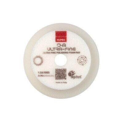 Rupes DA White Ultrafine Foam Pad - 4 Inch