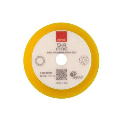 Rupes DA Yellow Fine Foam Pad - 4 Inch