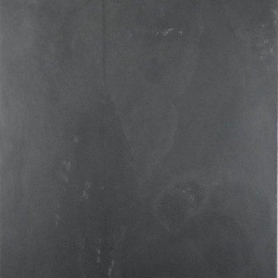 "12"" x 12"" Black Natural Slate Floor Tile"