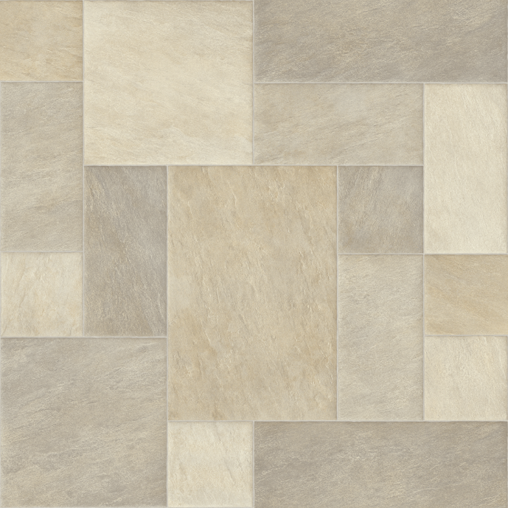 Da Vinci Cream REMNANT 167 sq ft