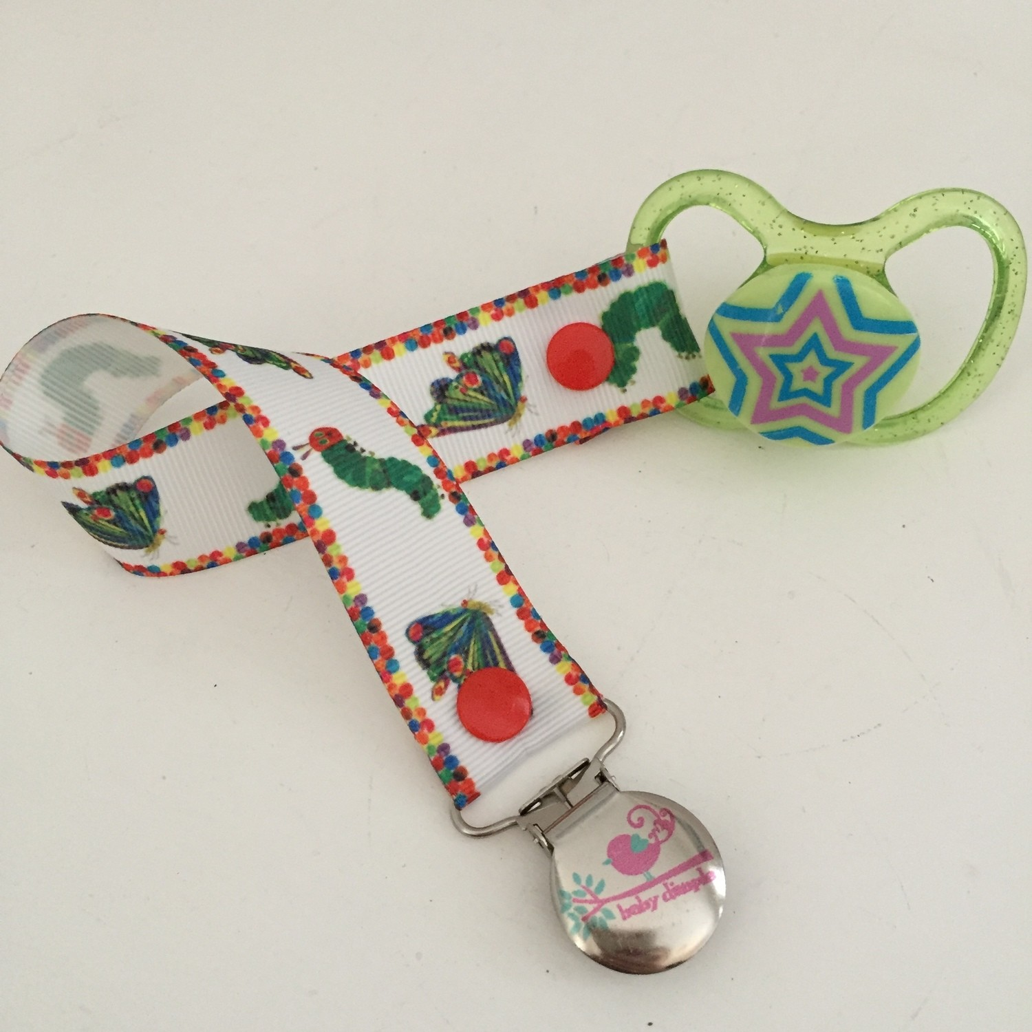 The Very Hungry Caterpillar Dummy Clip