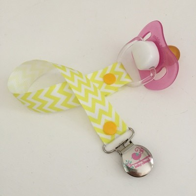 Yellow Chevron Dummy Clip