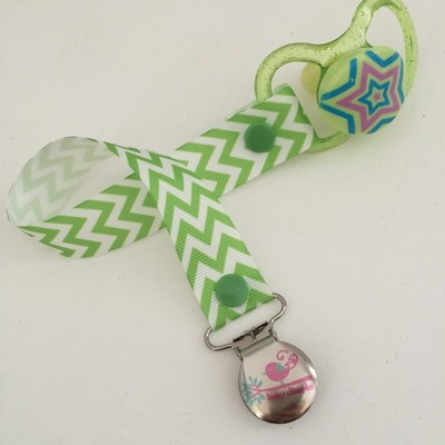 Green Chevron Dummy Clip