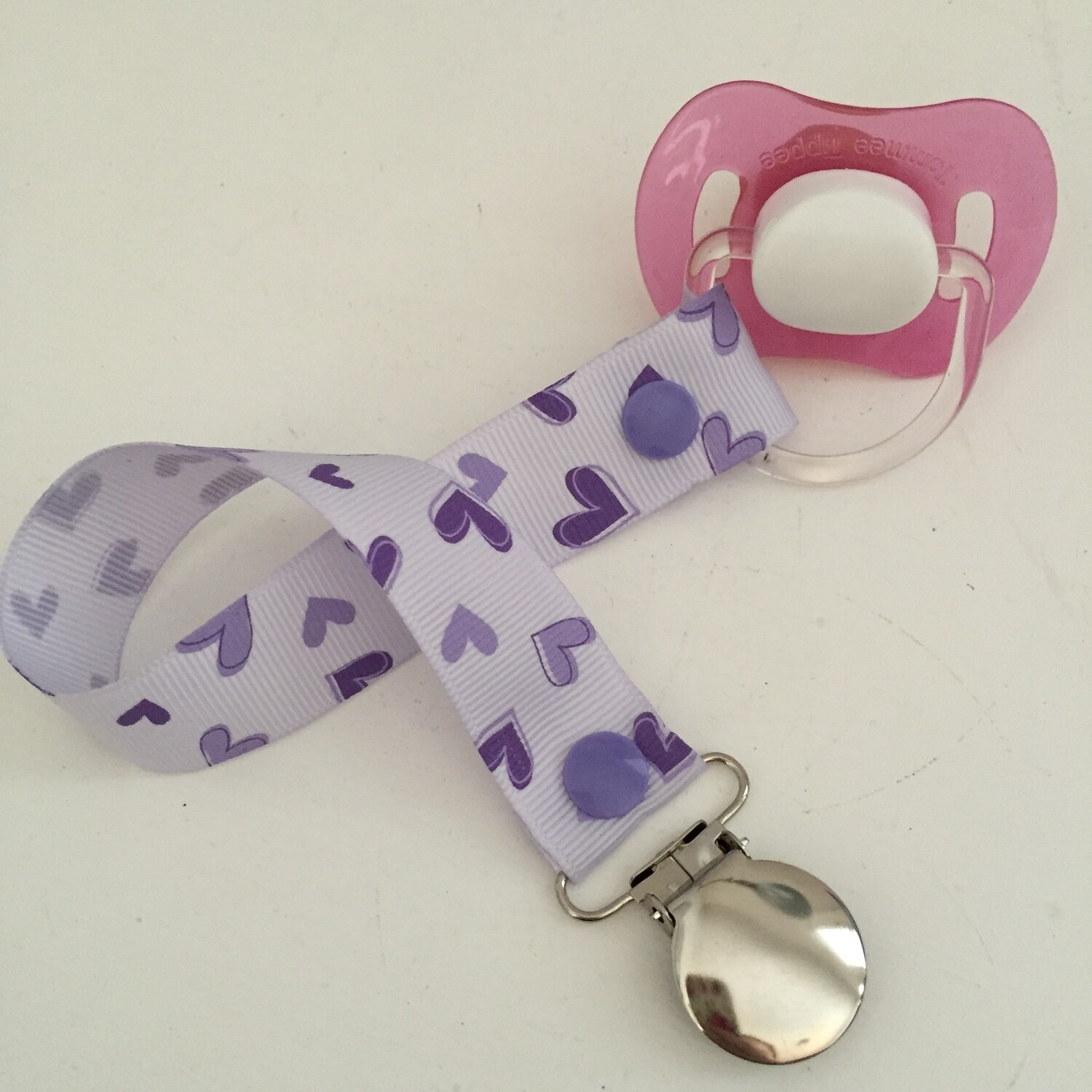 Purple Heart Dummy Clip