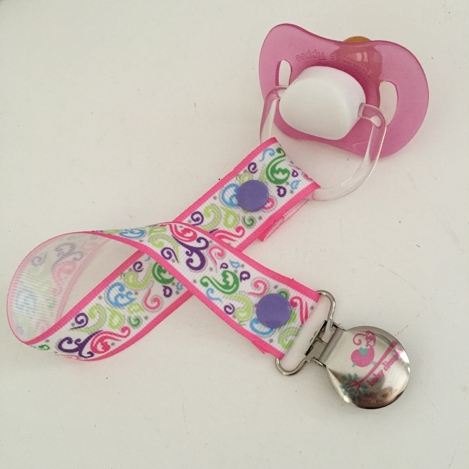 Frills and Curls Dummy Clip