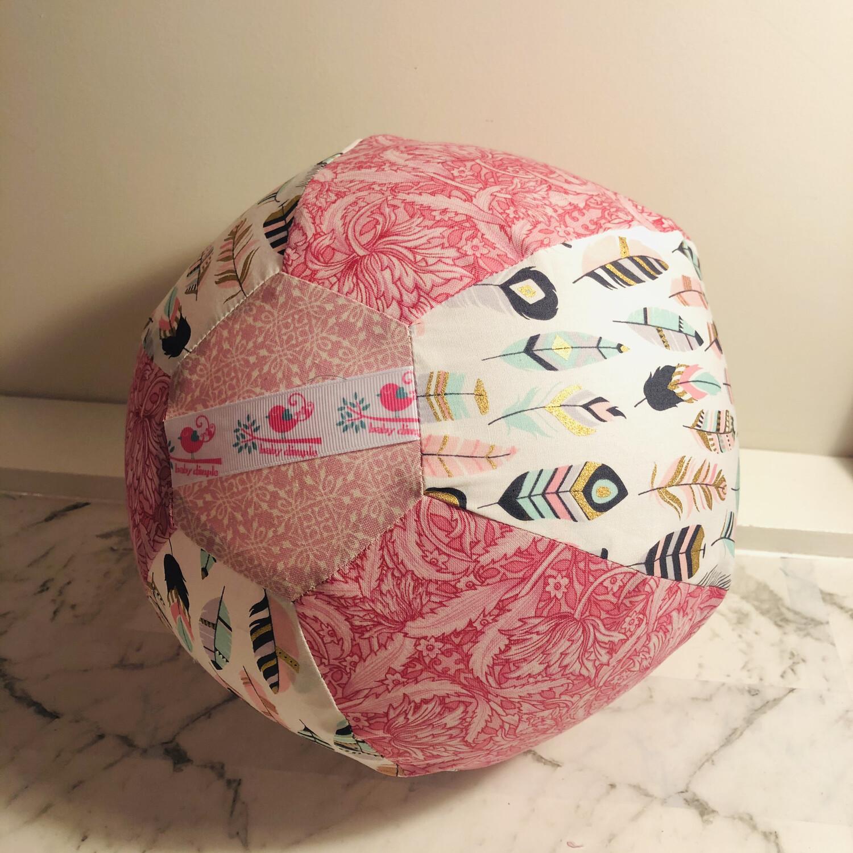 Pink Feathers BallOon Ball