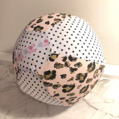 Pink Leopard BallOon Ball