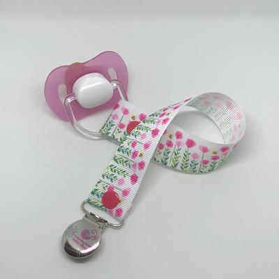 Pink Garden Dummy Clip