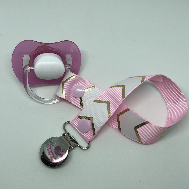 Pink Geo Dummy Clip