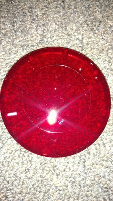 740-0060, LENS COVER RED