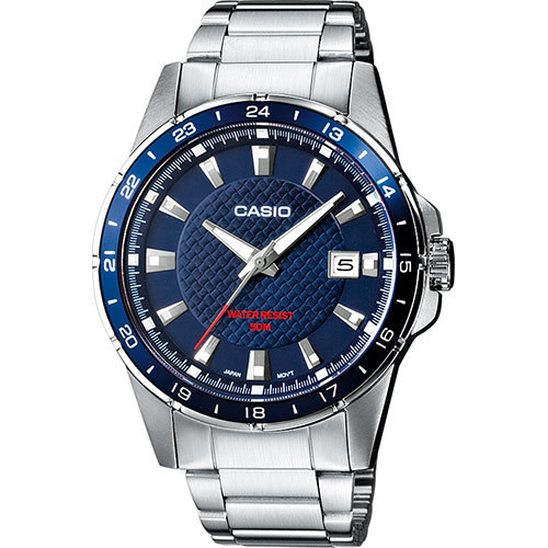 Reloj Casio original  MTP-1290D-2AV acero inoxidable japan movement