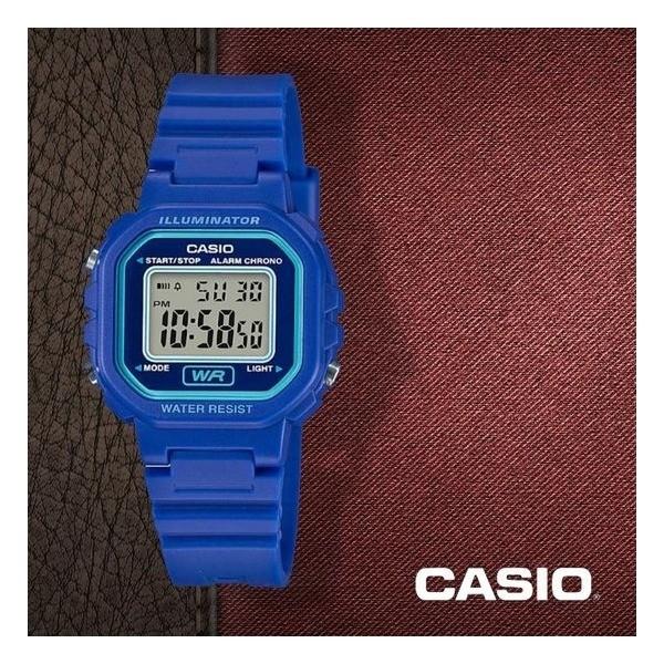 Reloj digital CASIO  LA-20WH-2AE correa azul UNISEX