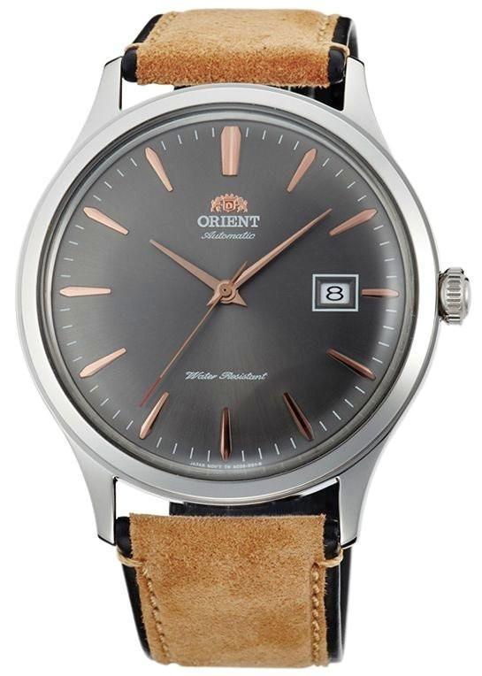 Reloj hombre automático Orient Bambino FAC08003A v4. correa cuero