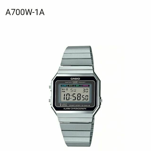 RELOJ CASIO Digital Watch A700W-1A