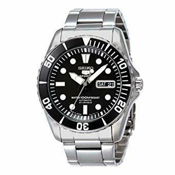 Reloj Automático Hombre Seiko 5 Sports SNZF17J1 Buceo acero