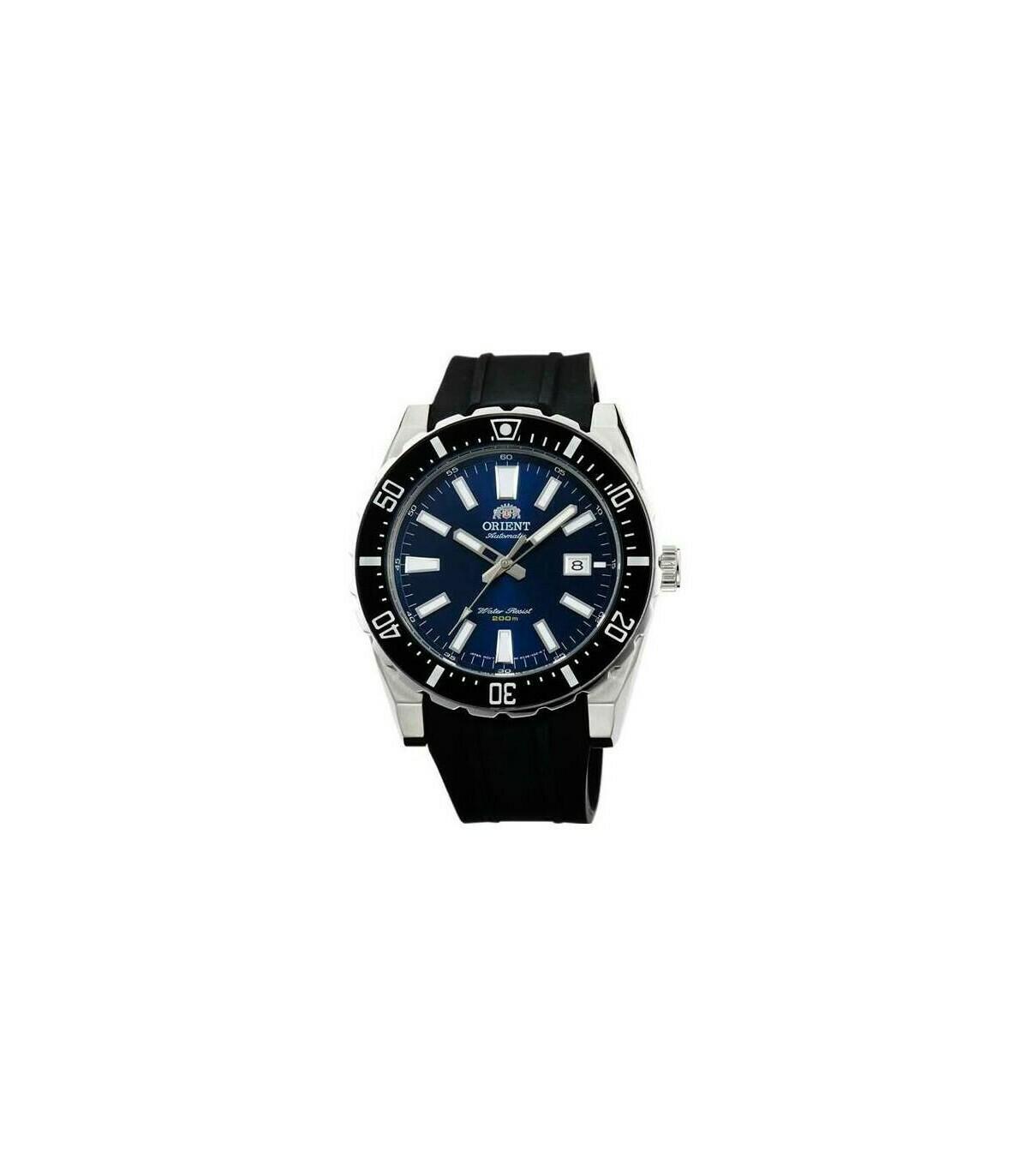 Reloj hombre automático Orient DIVERS FAC09004D correa goma 200m
