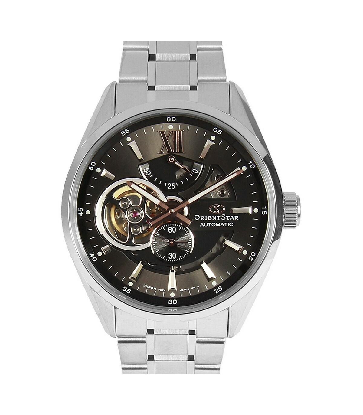 Reloj Automático Hombre Orient Star RE-AV0004N correa acero cristal zafiro