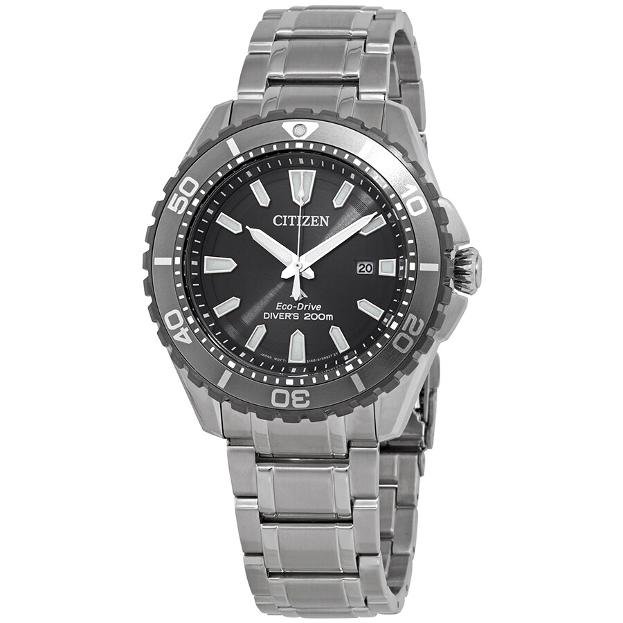 Reloj Hombre Citizen Eco-Drive Promaster BN0198-56H Diver Men's Silver-Tone 45mm Watch