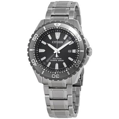 Reloj Hombre Citizen Eco-Drive Promaster BN0198-56H Diver Men's Silver-Tone 45mm Watch